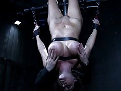 Christina Carter in a hardcore BDSM romp.