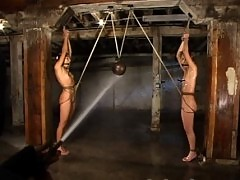 Feuding cheerleaders Keeani and Kat find themselves in a dungeon