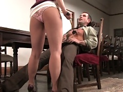 Slave boy gets a lesson in bdsm